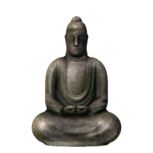 Buddha Statue (Click to view in 3D)