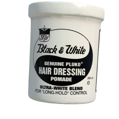 P3d Black White Hair Dressing Pomade