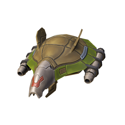 Rocket Turtle (Click to view in 3D)