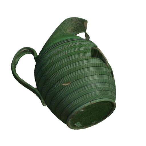 GreenPottery2 (Click to view in 3D)