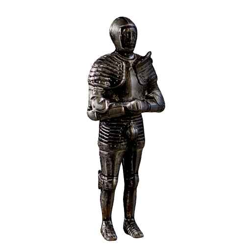 Knight (Click to view in 3D)