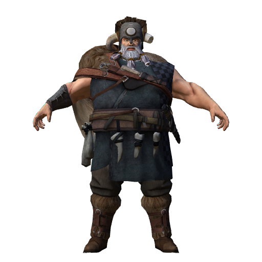 Viking (Click to view in 3D)