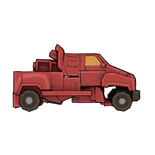 Transformer Toys- Iron Hide (Vehicle Form)