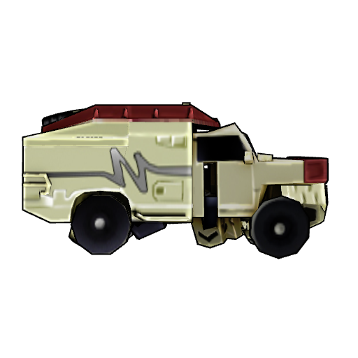 Transformer Toy -Ratchet (vehicle mode)