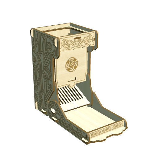 Dice Tower - open