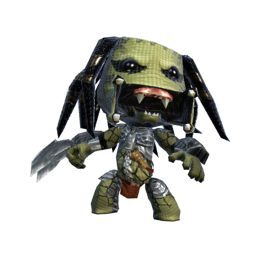 Predator Sackboy (LBP Fan Art)