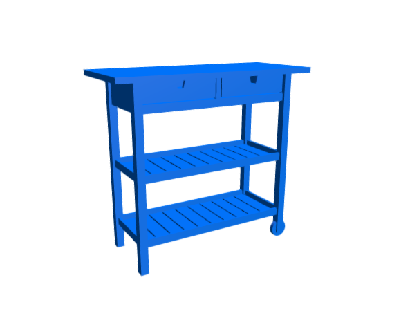 3D-Dimensions-Guide-Furniture-Kitchen-Cart-IKEA-Forhoja-Kitchen-Cart